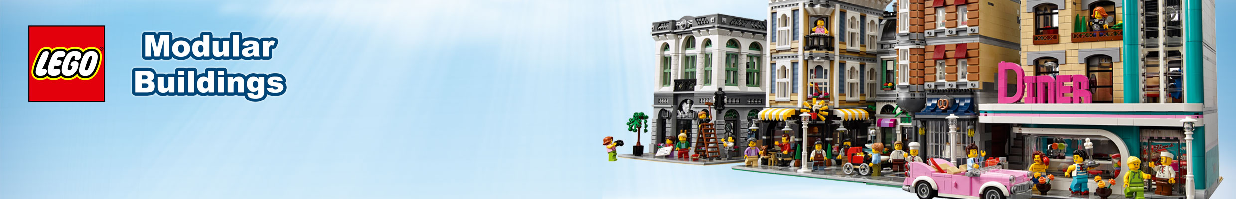 LEGO Modular Buildings