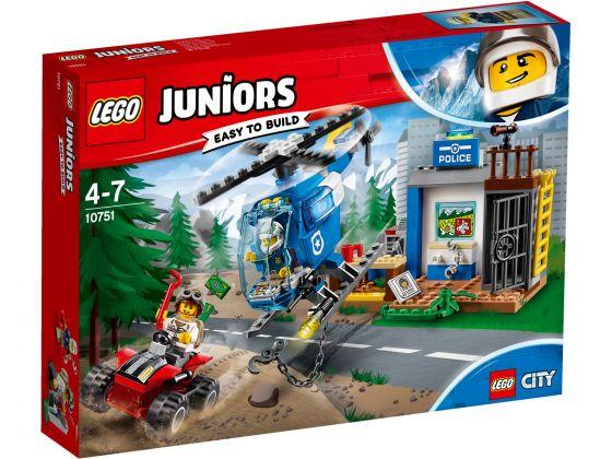 LEGO Juniors 10751 Politieachtervolging in de bergen