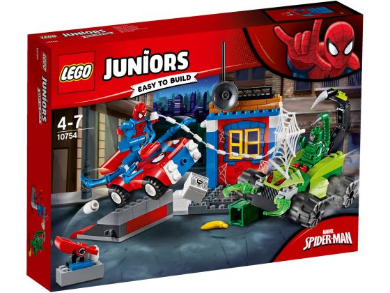 LEGO Juniors 10754 Spider-Man vs Scorpion Straatduel