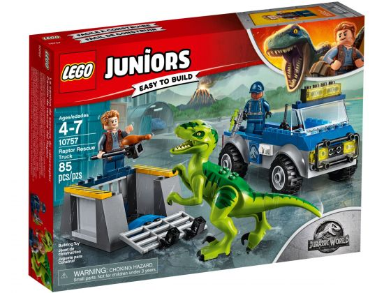 LEGO Juniors 10757 Raptor reddingsauto