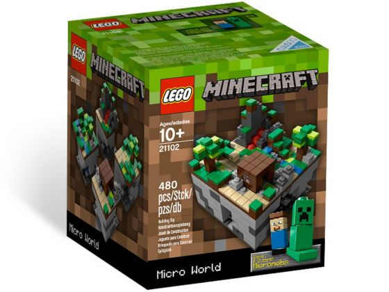 LEGO 21102 Minecraft Micro World