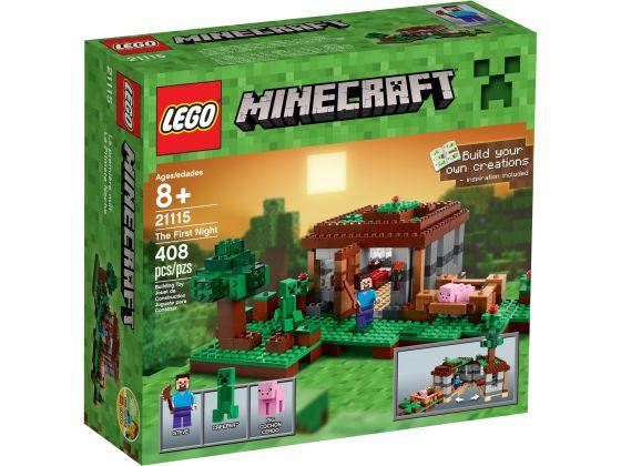 LEGO Minecraft 21115 De Eerste Nacht