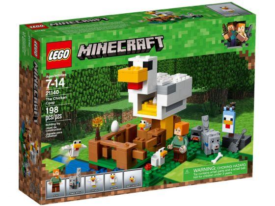 LEGO Minecraft 21140 Het kippenhok
