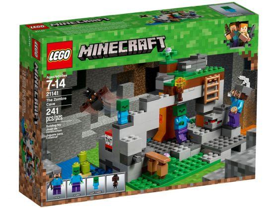 LEGO Minecraft 21141 De zombiegrot