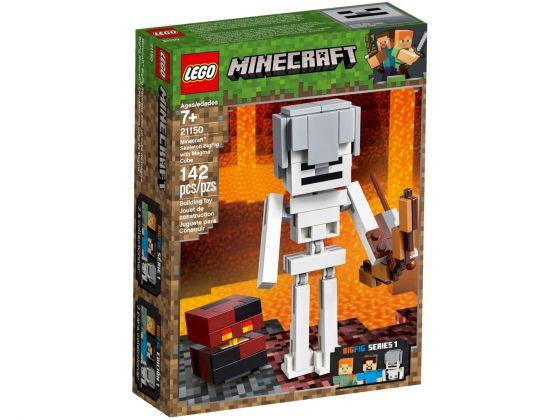 LEGO Minecraft 21150 BigFig skelet met magmakubus
