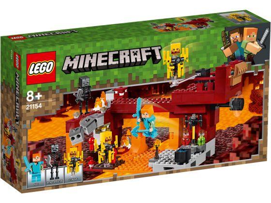 LEGO Minecraft 21154 De Blaze brug