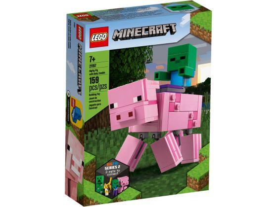 LEGO Minecraft 21157 BigFig Varken met Babyzombie