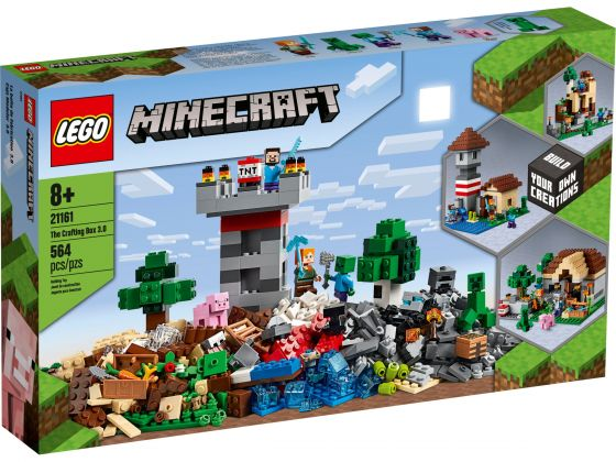 LEGO Minecraft 21161 De Crafting-box 3.0
