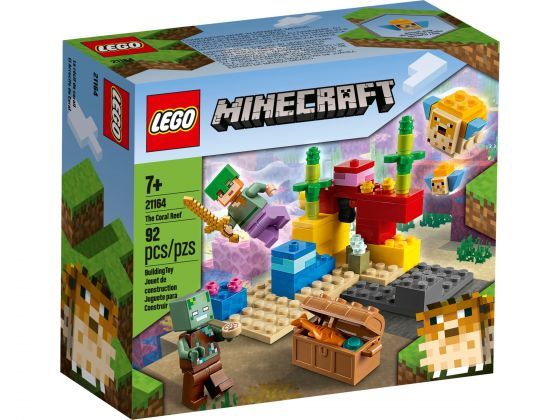 LEGO Minecraft 21164 Het koraalrif