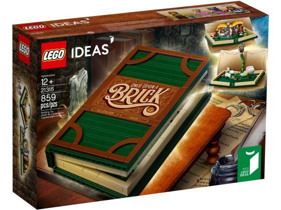 LEGO 21315 Uitklapboek