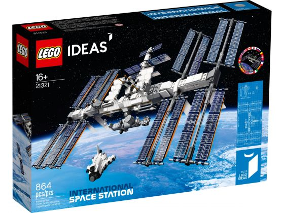 LEGO Ideas 21321 ISS Internationaal ruimtestation