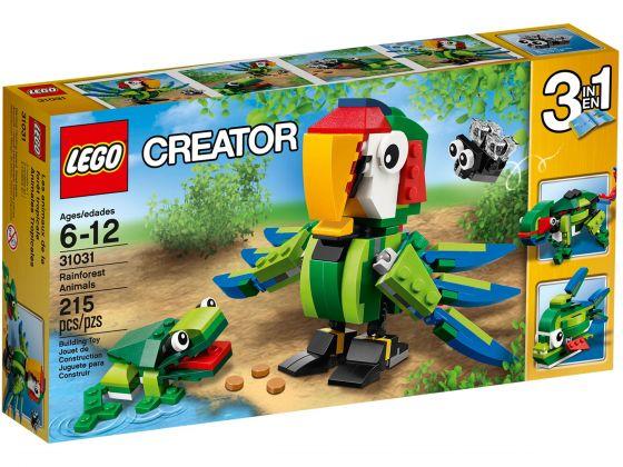 LEGO Creator 31031 Regenwoud dieren