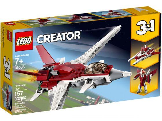 LEGO Creator 31086 Futuristisch vliegtuig