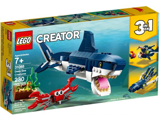 LEGO Creator 31088 Diepzeewezens