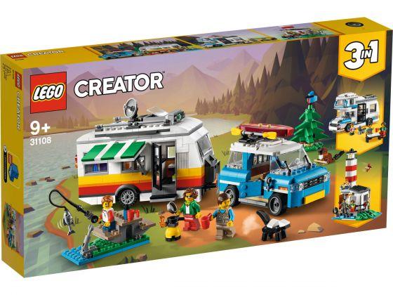 LEGO Creator 31108 Familievakantie met caravan