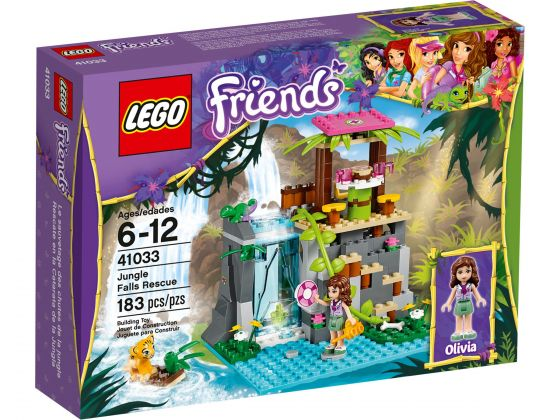 LEGO Friends 41033 Junglewaterval Reddingsactie