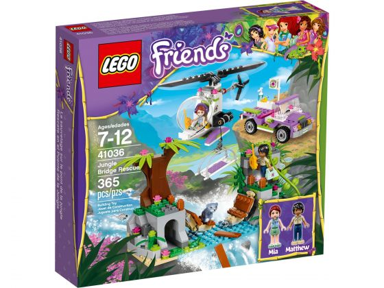 LEGO Friends 41036 Junglebrug Reddingsactie