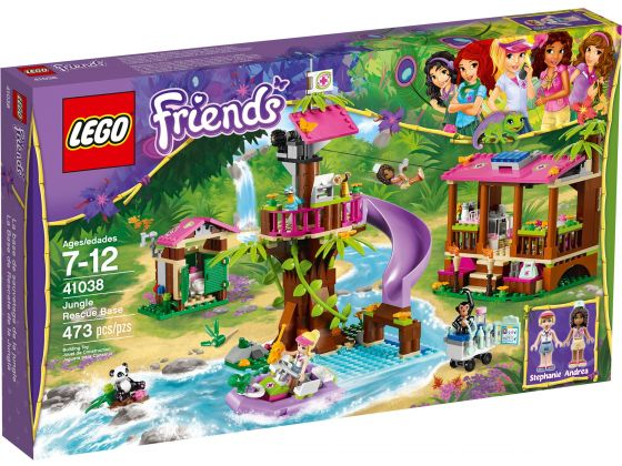 LEGO Friends 41038 Jungle Reddingsbasis
