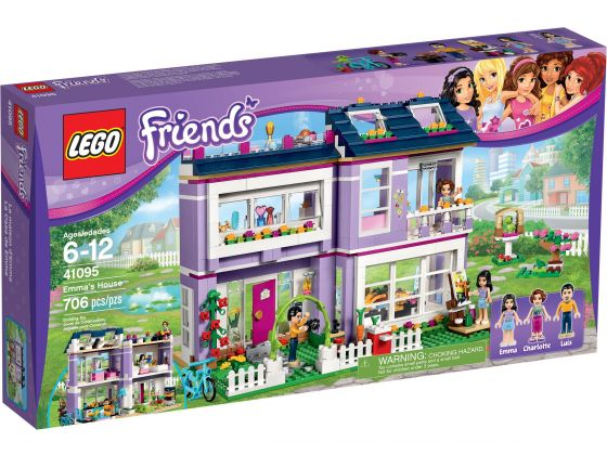 LEGO Friends 41095 Emma's huis