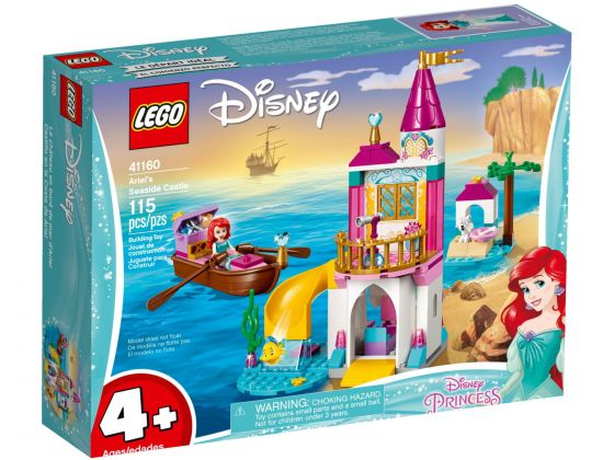 LEGO Disney 41160 Ariëls kasteel aan de kust