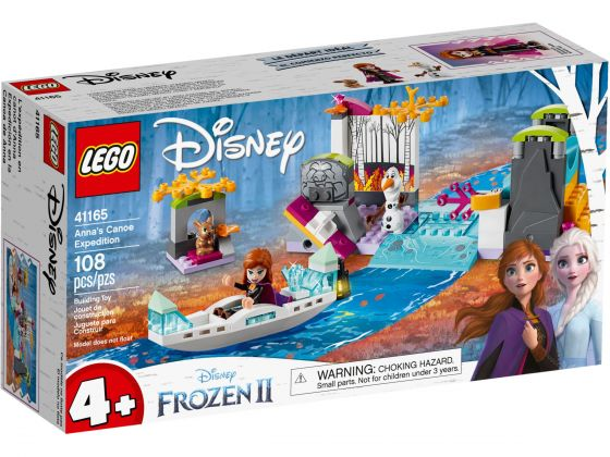 LEGO Disney Frozen 41165 Anna's kano-expeditie
