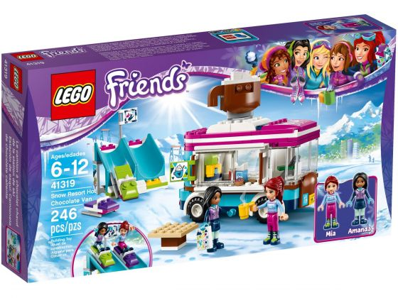 LEGO Friends 41319 Wintersport koek-en-zopiewagen