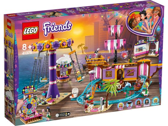 LEGO Friends 41375 Heartlake City pier met kermisattracties