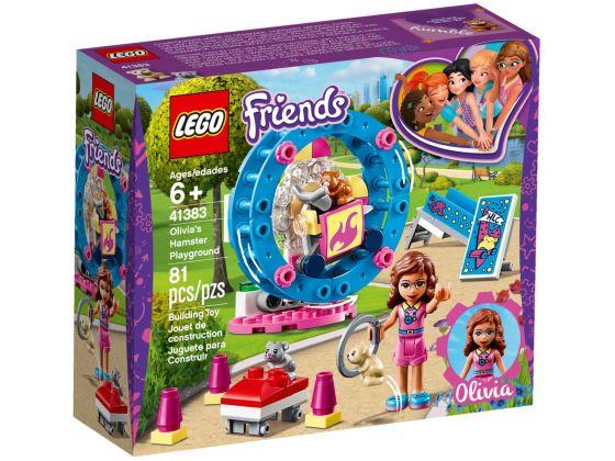 LEGO Friends 41383 Olivia's hamsterspeelplaats
