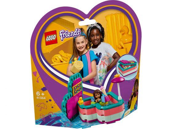 LEGO Friends 41384 Andrea's hartvormige zomerdoos