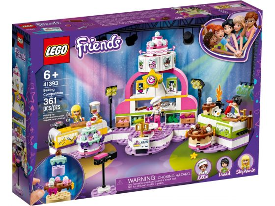 LEGO Friends 41393 Bakwedstrijd
