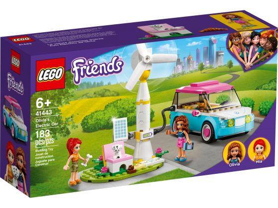 LEGO Friends 41443 Olivia's elektrische auto
