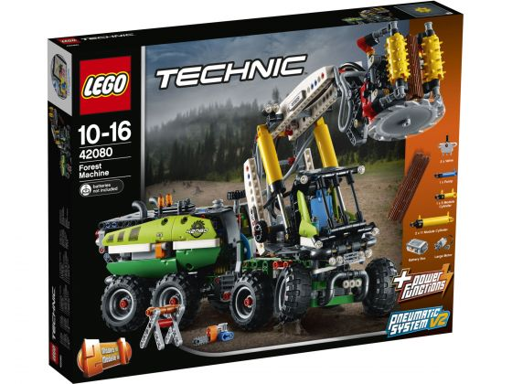 LEGO Technic 42080 Bosbouwmachine