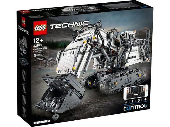 LEGO Technic 42100 Liebherr R 9800 Graafmachine