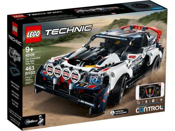 LEGO Technic 42109 Top Gear rallyauto met app-bediening