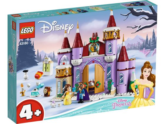 LEGO Disney 43180 Belle's kasteel winterfeest