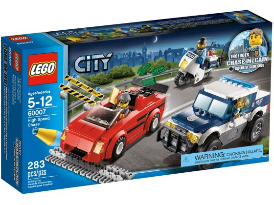 LEGO City 60007 Snelle achtervolging
