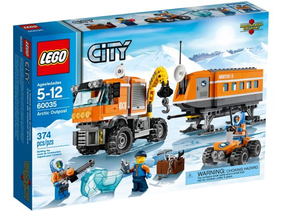 LEGO City 60035 Arctic Voorpost
