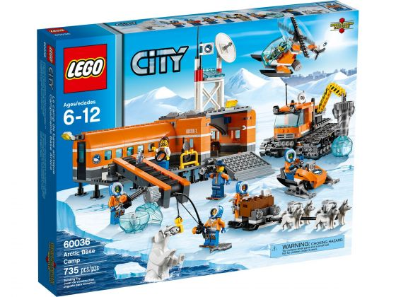 LEGO City 60036 Arctic Basiskamp