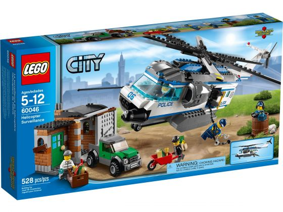 LEGO City 60046 Helicopter Patrouille
