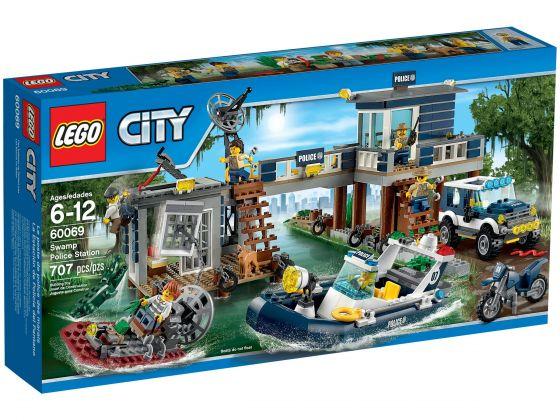 LEGO City 60069 Moeraspolitie hoofdbureau