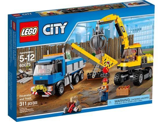 LEGO City 60075 Graafmachine en Truck