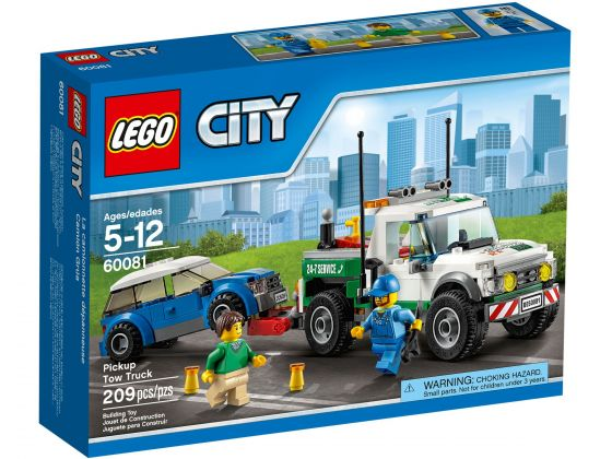LEGO City 60081 Pick-up sleepwagen