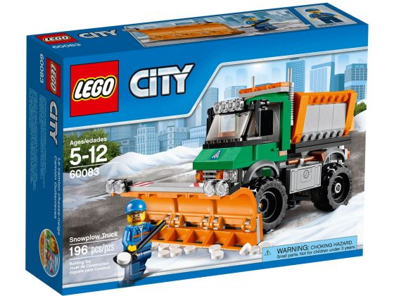 LEGO City 60083 Sneeuwtruck