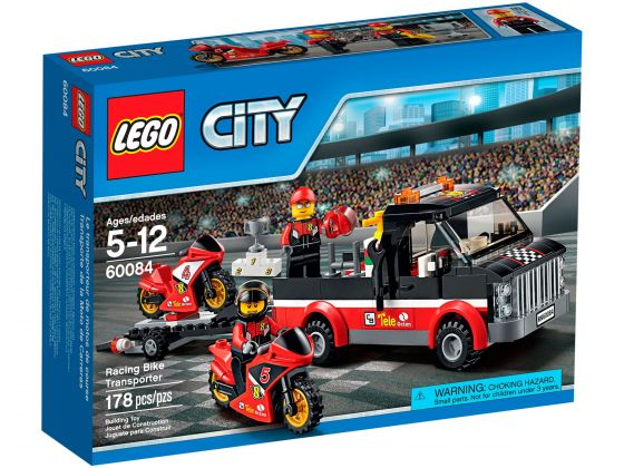 LEGO City 60084 Racemotor Transport