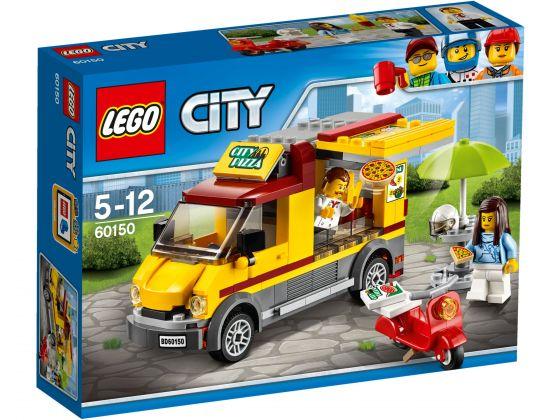 LEGO City 60150 Pizza Bestelwagen