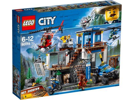 LEGO City 60174 Bergpolitie Hoofdkwartier