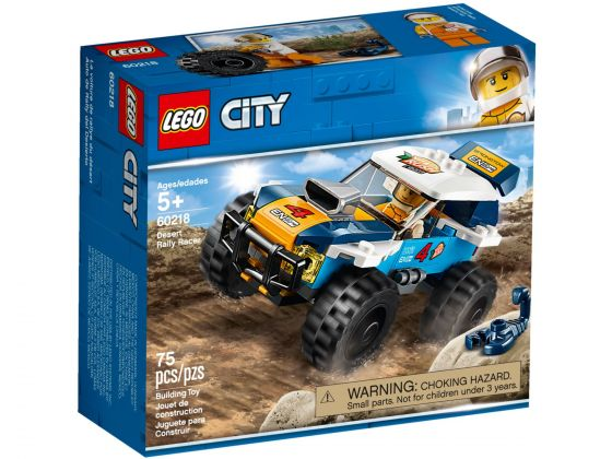 LEGO City 60218 Woestijn rallywagen