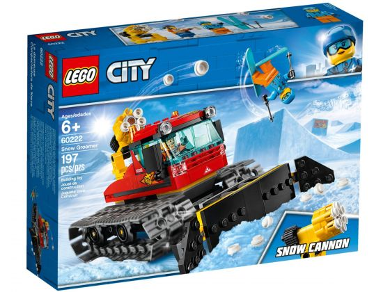 LEGO City 60222 Sneeuwschuiver