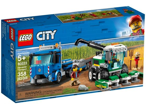 LEGO City 60223 Maaidorser transport