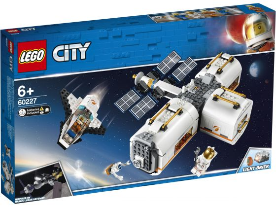 LEGO City 60227 Ruimtestation op de maan